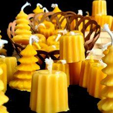 Bougie cannelé cire d'abeille
